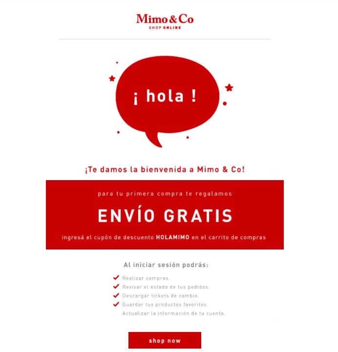 Email de Bienvenida