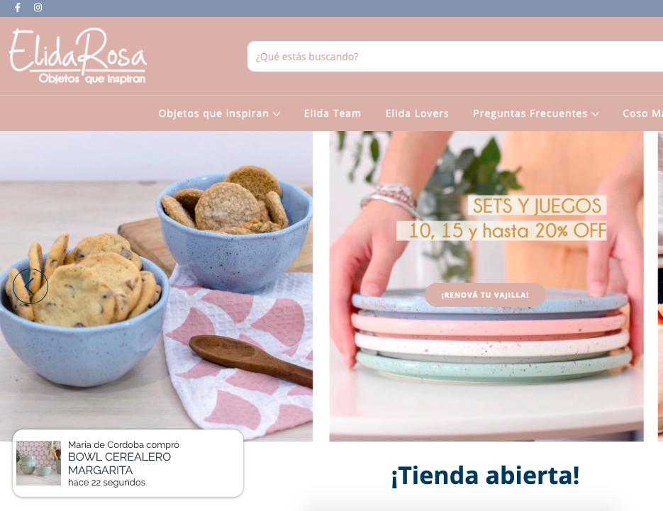 Notificaciones web Tienda Online