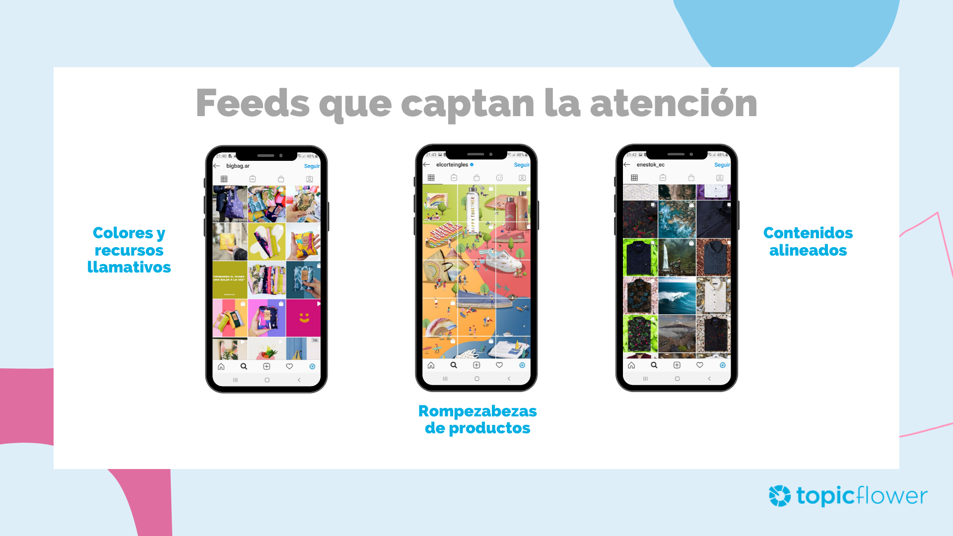 Instagram Business: Feeds que captan la atención