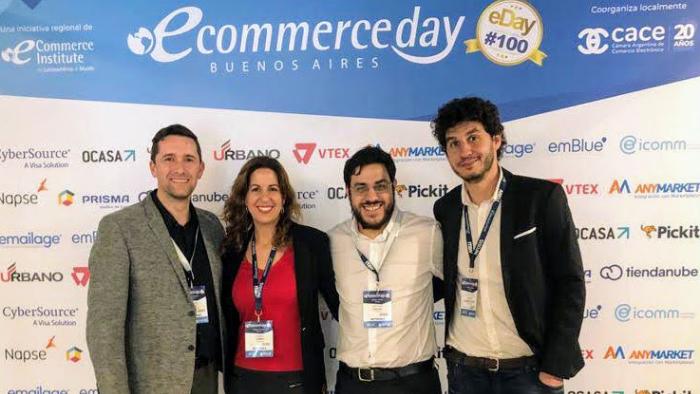 El equipo de Facturante en el E-commerce Day Buenos Aires